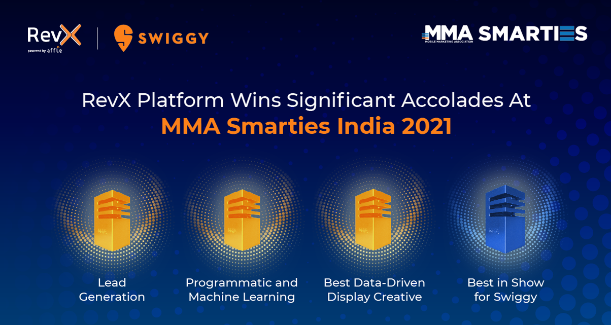 RevX Wins Gold at the MMA India Smarties 2021